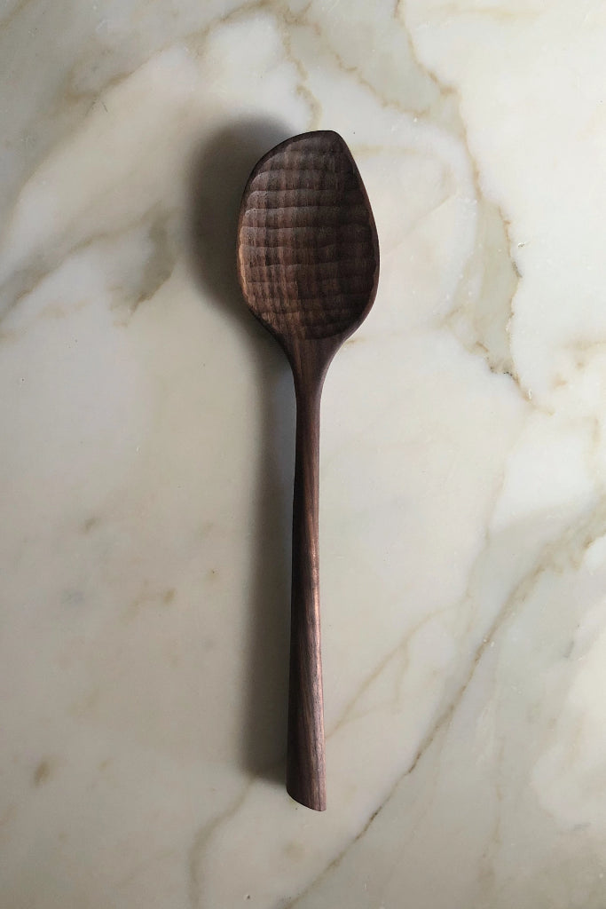 Dark Walnut Cooking Spoon
