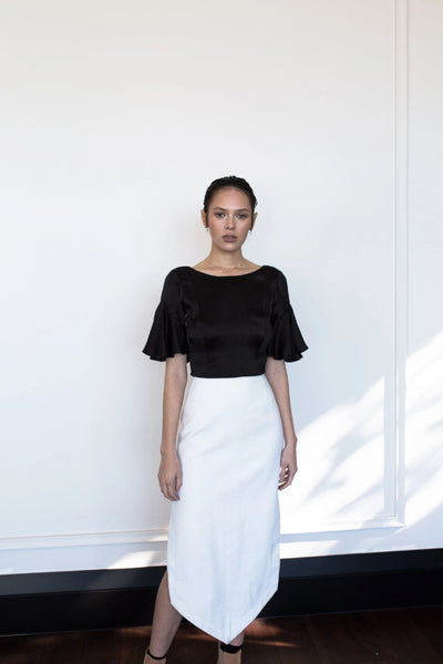 Wolfe Skirt Skirts The Fashion Advocate ethical Australian fashion designer boutique Melbourne sustainable clothes