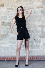 Mila Playsuit Jumpsuits + playsuits The Fashion Advocate ethical Australian fashion designer boutique Melbourne sustainable clothes