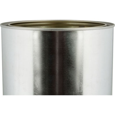 1 Gallon 128 oz Metal Paint Can with Lid, Gold Epoxy Phenolic Lined. No Handles