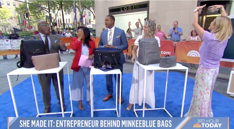 Sherrill Happy Dance on the Today Show