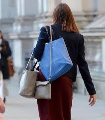 Woman with three bags