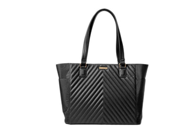 The Ella Tote 2.0 - Minkeeblue