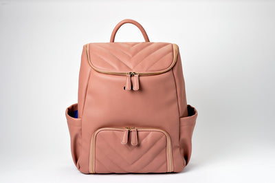 Nichet Backpack - Vegan Leather - Minkeeblue