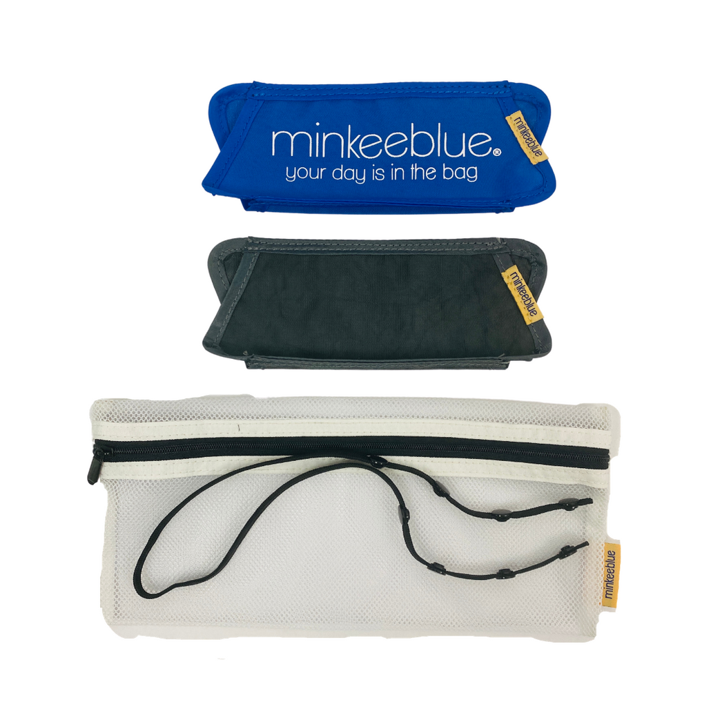 Minkee Mask Holder MB & Gray