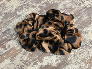071 CLT Leopard Scrunchies (Chocolate)