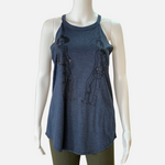 Load image into Gallery viewer, Double Cowboy Cold Shoulder Tee (Main)