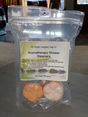 6-Pack Aromatherapy Shower Steamers (front)