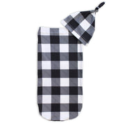 FIR Cutie Cocoon - Gingham Black & White (Set)