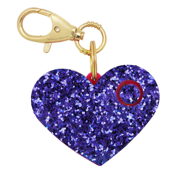 ahh!-larm (Purple Glitter Heart)
