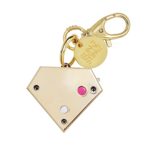 Personal Security Alarm - Gemstone (Gold BACK)