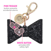 ahh!-larm Personal Security Alarm - Glitter Bow