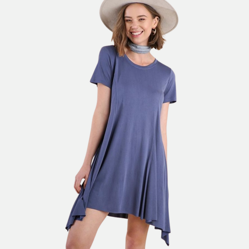Basic Cupro Dress (Main)