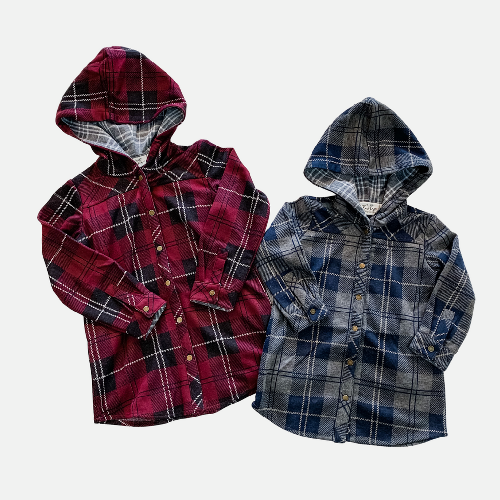 Bonfire Plaid Jacket - Children (Main)