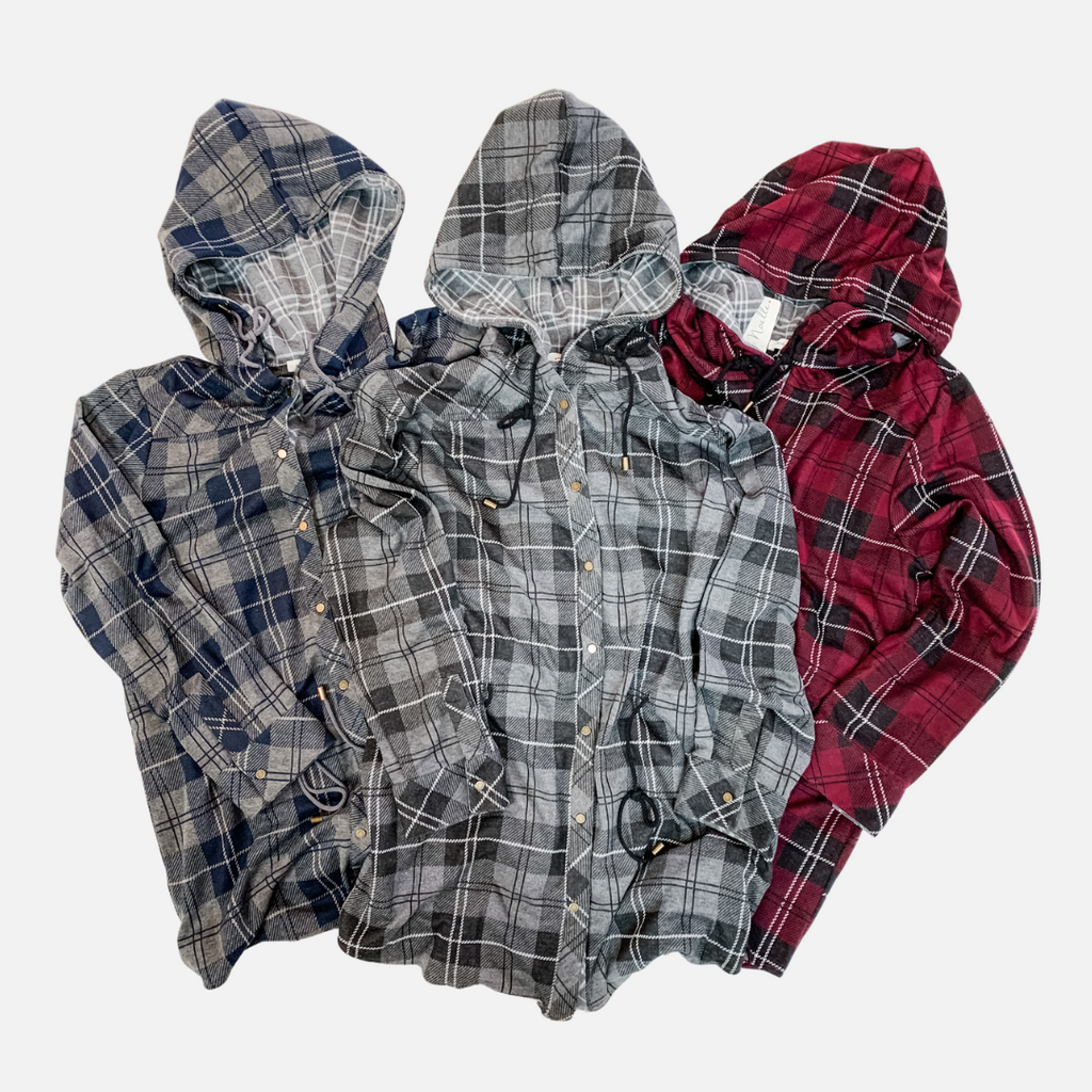 Bonfire Plaid Jacket - Women (Main)