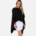 Load image into Gallery viewer, Bordeaux Cardi Wrap - BLACK (Main)