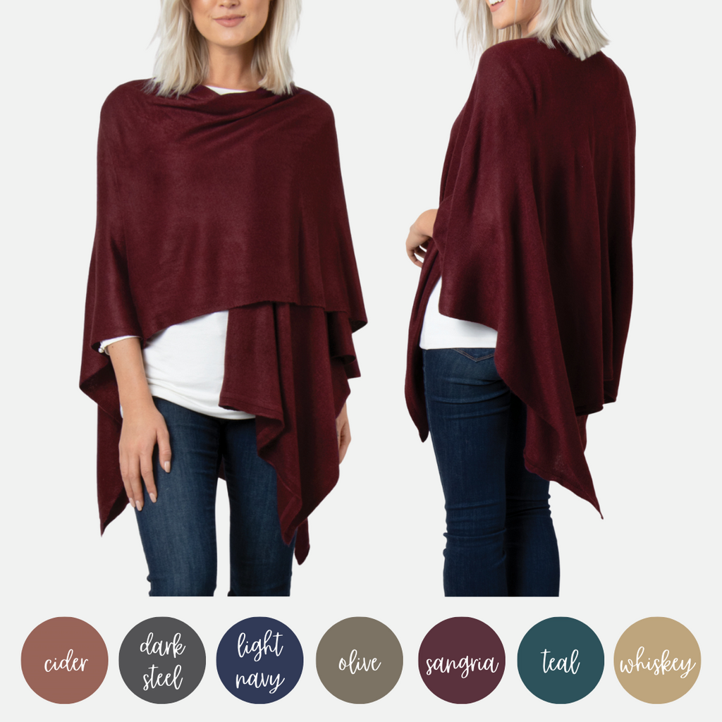 Bordeaux Cardi Wrap - COLORS (Main)
