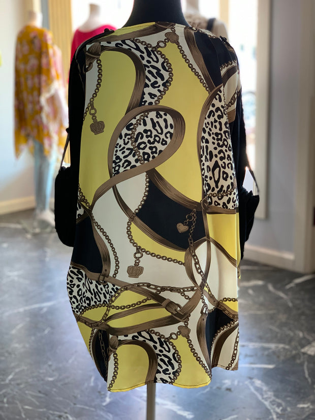 F3 3-4 Mesh Versace Blouse (Back)