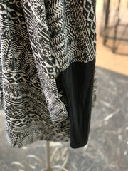 F3 LS Aztek Pattern Cape (Closeup - Sleeve)
