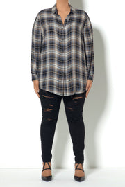 F3 LS Plaid Buttondown Shirt