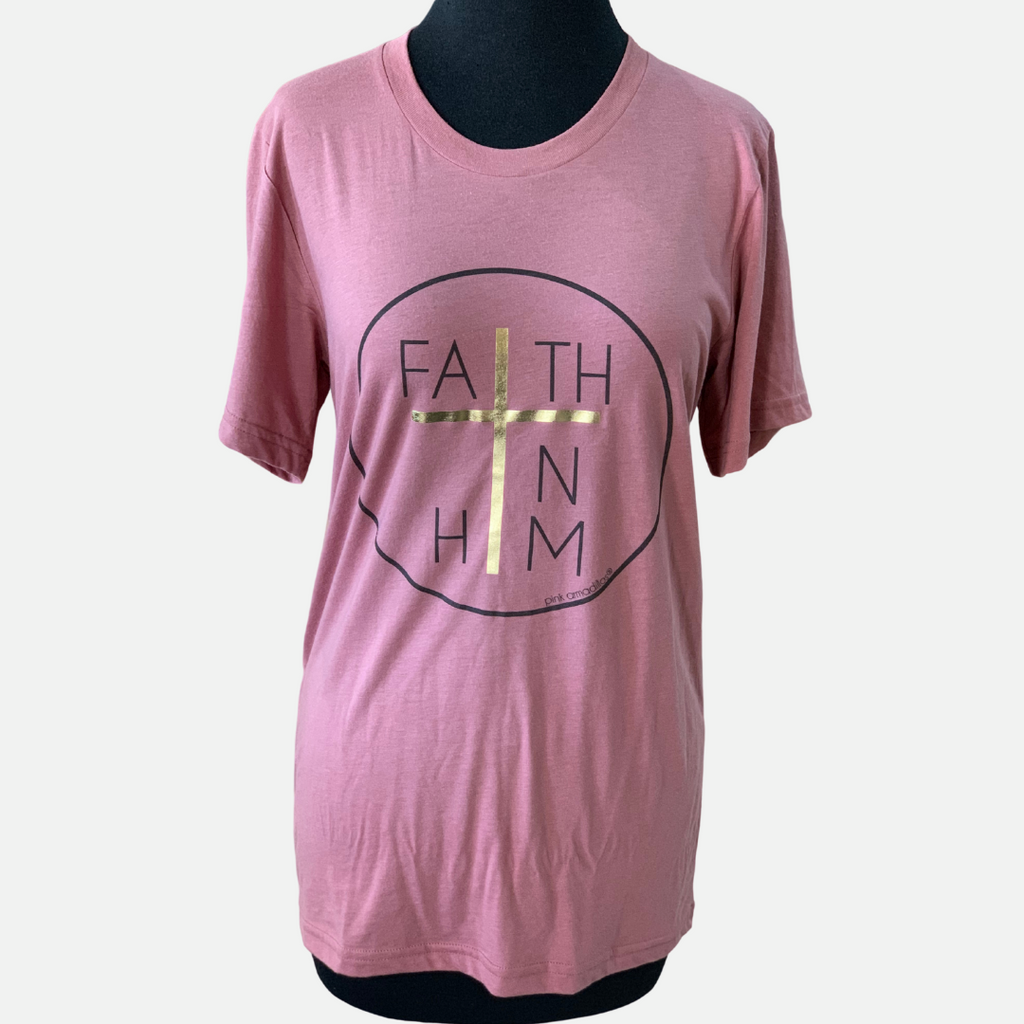 """Faith In Him"" Graphic Tee (Main)"