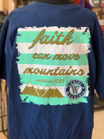 Load image into Gallery viewer, Faith Mountains Graphic Tee (Closeup Back)