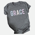 Load image into Gallery viewer, GRACE Graphic Tee (Main)