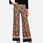 Load image into Gallery viewer, Geo Print Palazzo Pants (Main)