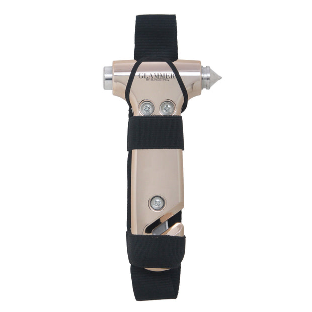 SS Glammer (Rose Gold - Adjustable Visor Strap)