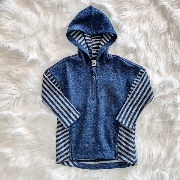 Lakeside Hooded Top (Toddler) - Navy