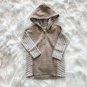 Lakeside Hooded Top - Toddler (Pearl)