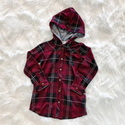 Bonfire Plaid Jacket (Children) - Sangria