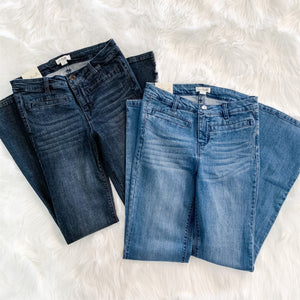 Boot Cut Jeans (Colors)