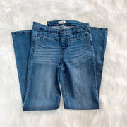 Boot Cut Jeans (Medium Wash Denim)