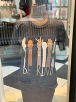 "Load image into Gallery viewer, Sign Language ""BE KIND"" Graphic Tee"