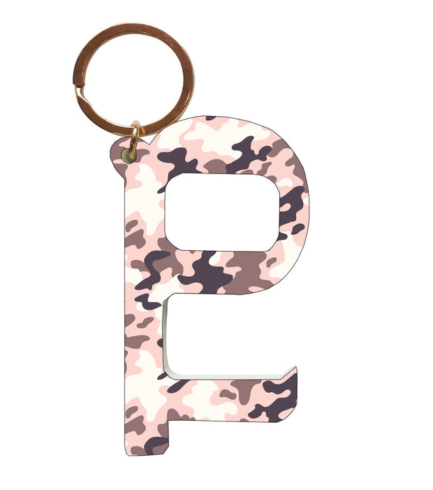 Hands Free Contactless Keys (Camo Pink)