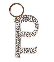 Hands Free Contactless Keys (Leopard Pink Grey)