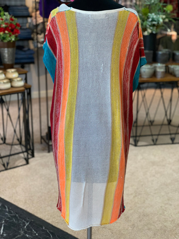 L&B SL HL MVS Serape Sweater (Back)