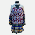 Load image into Gallery viewer, Lace Boho Print Dress (Main)
