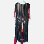 Load image into Gallery viewer, Long Macramé Vest (Main)
