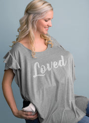 FIR T-Shirt Nursing Cover - Lifestyle (FRONT)