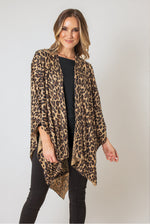 Load image into Gallery viewer, OP Bordeaux Cardi Wrap - Java (Front)