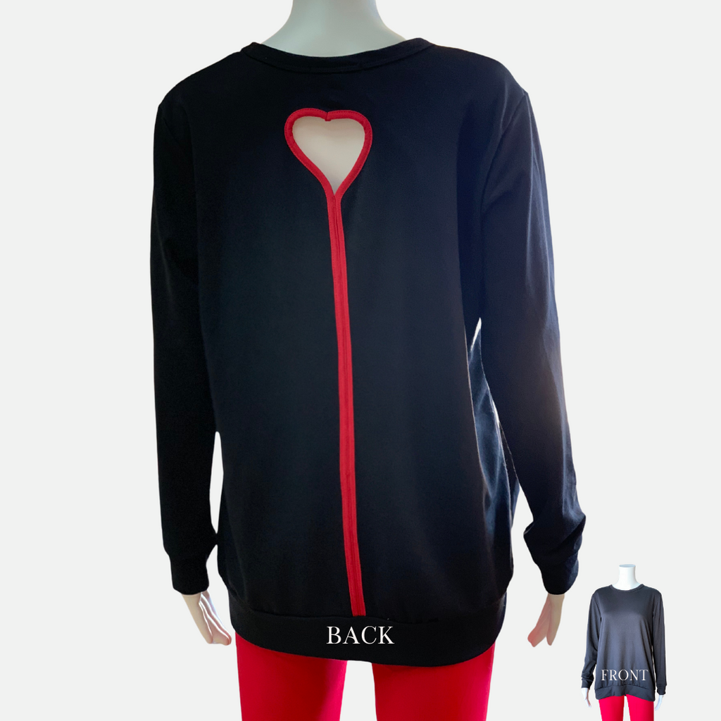 Perfect Valentine Back Heart Top (Main)