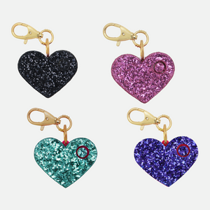Personal Security Alarm - Glitter Heart (Main)