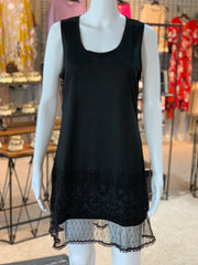 RA SL Lace Extender - Black (Front)