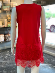 RA SL Lace Extender - Red (Back)
