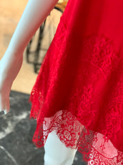 RA SL Lace Extender - Red (Side)