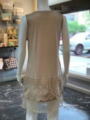 RA SL Lace Extender - Tan (Back)