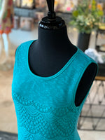 Load image into Gallery viewer, Lace Fringe Dress (Closeup Top)