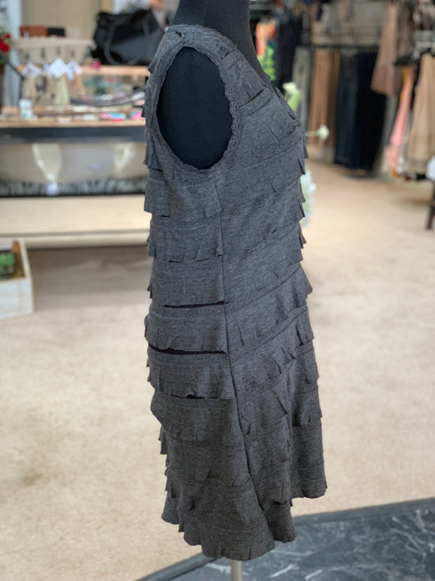 RA SL Ruffle Dress (Side)